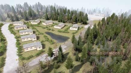 Лесной район 3 v1.3.5 для MudRunner