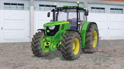 John Deere 6170R〡interactive control для Farming Simulator 2015