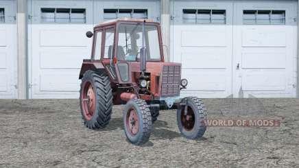 МТЗ 80 Беларус〡следы от колёс для Farming Simulator 2015