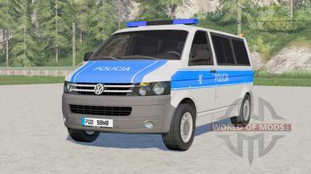 Volkswagen Transporter Kombi (T5) 2009〡Emergency для Farming Simulator 2017