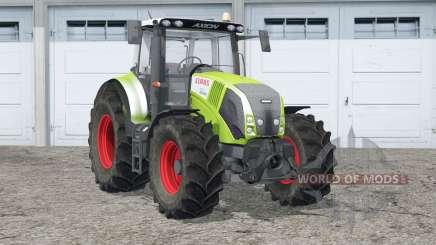 Claas Axion 820〡wheel particle spec для Farming Simulator 2015