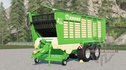 Krone ZX 430 GD〡forage wagon для Farming Simulator 2017