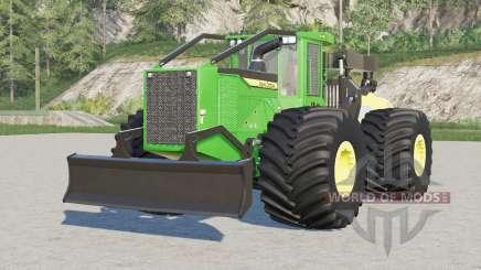 John Deere 948L-II〡numerous wheel configurations для Farming Simulator 2017