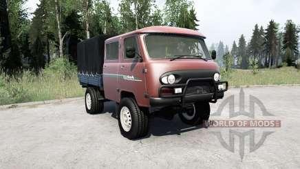 УАЗ 39094 Фермер〡свой груз для MudRunner