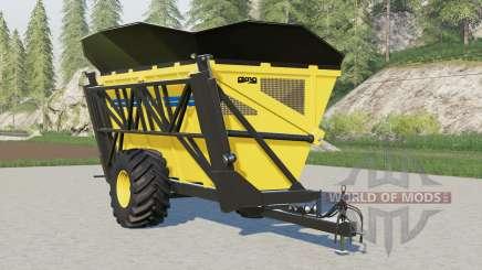 Oxbo high tip dump cart для Farming Simulator 2017