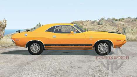 Dodge Challenger RT 440 Six Pack (JS-23) 1970 для BeamNG Drive