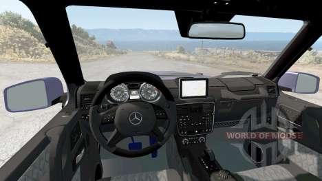 Mercedes-Benz G 65 AMG (W463) 2015 для BeamNG Drive