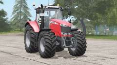 Massey Ferguson 7700 series〡wheel configurations для Farming Simulator 2017