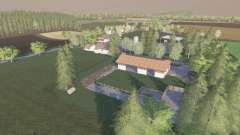 Wurttemberger Land для Farming Simulator 2017