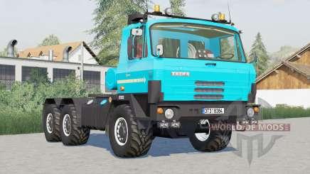 Tatra T815 6x6 tractor〡to choose from 3 colors для Farming Simulator 2017