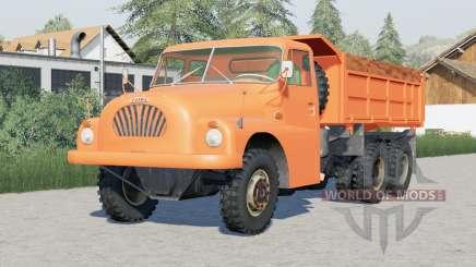 Tatra T138〡tilting to 3 sides для Farming Simulator 2017