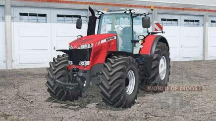 Massey Ferguson 8737〡door opening для Farming Simulator 2015