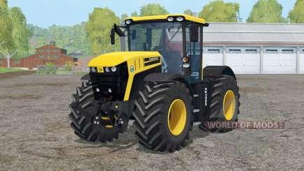 JCB Fastrac 4220〡steered axles для Farming Simulator 2015