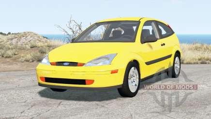 Ford Focus ZX3 (DBW) 2000 для BeamNG Drive