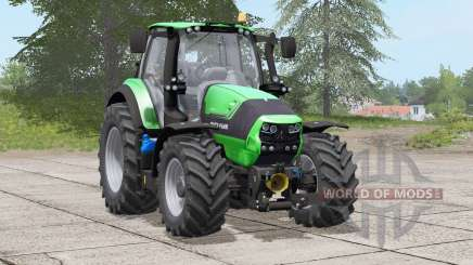 Deutz-Fahr 6190 TTV〡working headlights reworked для Farming Simulator 2017