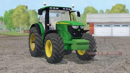 John Deere 6210R〡animated speed indicator для Farming Simulator 2015