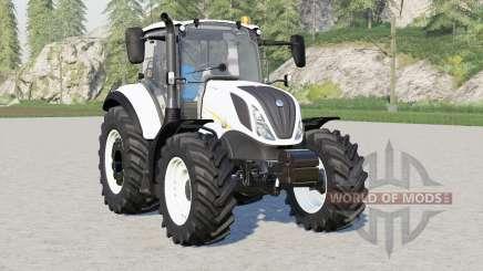 New Holland T5 series〡front & wheel weights для Farming Simulator 2017
