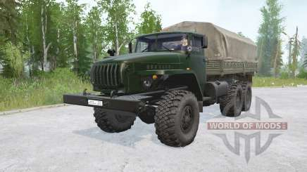 Урал 4320〡с двигателем ЯМЗ 236НЕ2 для MudRunner