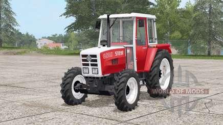 Steyr 8080A〡pendelachse для Farming Simulator 2017