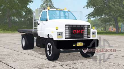 GMC TopKick C7500 Regular Cab Flatbed для Farming Simulator 2017