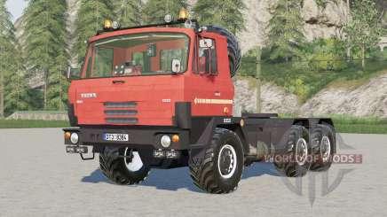 Tatra T815 6x6 tractor для Farming Simulator 2017