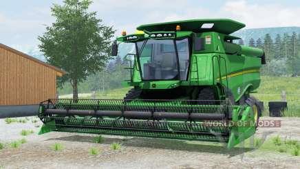 John Deere S660 для Farming Simulator 2013