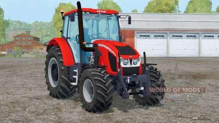 Zetor Forterra 140 HSX〡digital speedometer для Farming Simulator 2015