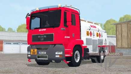 MAN TGM Fuel Truck для Farming Simulator 2015