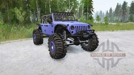 Jeep Wrangler Unlimited (JK) 2015〡Frogs для MudRunner