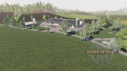 Ulzhausen для Farming Simulator 2017