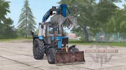 МТЗ 82.1 Беларус ПЭ-Ф-1БМ для Farming Simulator 2017