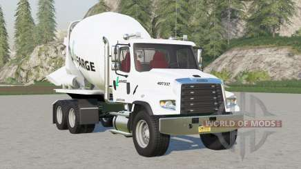 Freightliner 114SD Concrete Mixer Truck для Farming Simulator 2017