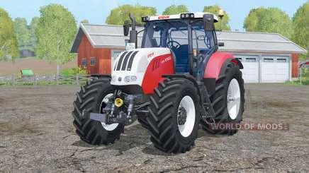 Steyr 6160 CVT〡interactive control для Farming Simulator 2015