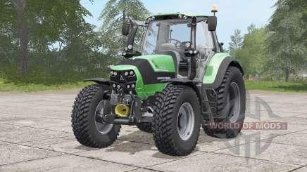 Deutz-Fahr 6160 TTV Agrotron〡Nokian tires для Farming Simulator 2017