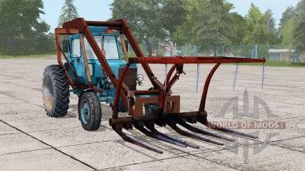 МТЗ 80 Беларус〡стогомёт для Farming Simulator 2017