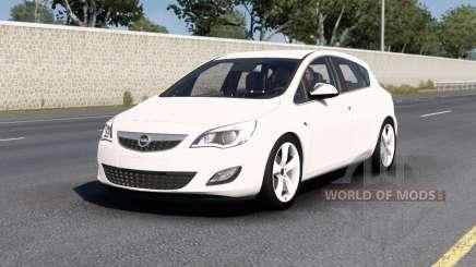 Opel Astra (J) 2010 v1.5 для American Truck Simulator