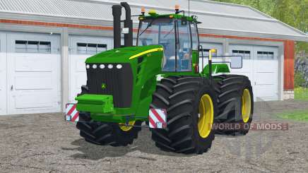John Deere 9630〡with terra tires для Farming Simulator 2015