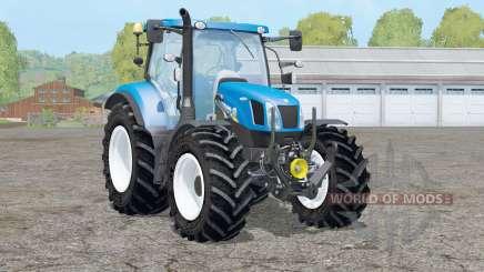 New Holland T6.160〡removable front fender для Farming Simulator 2015