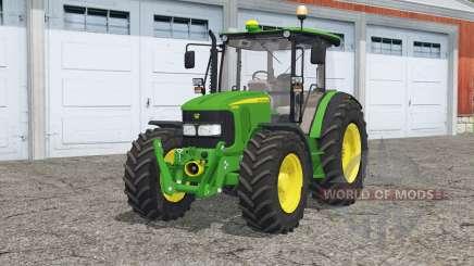 John Deere 5080M〡animated dashboard для Farming Simulator 2015