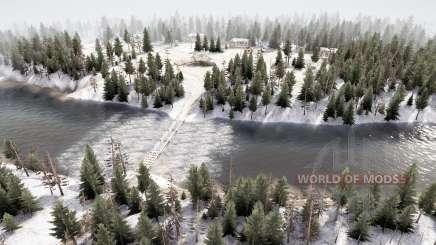 Лесной район 5 v3.5 для MudRunner