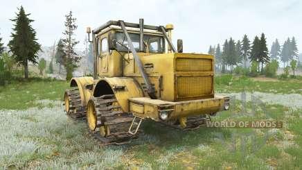 Кировец К-700А на гусеничном ходу для MudRunner