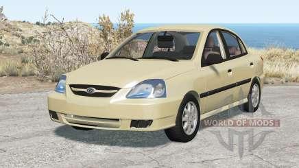 Kia Rio sedan (DC) 2003 для BeamNG Drive