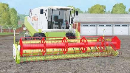 Claas Lexion 480〡dynamic exhausting system для Farming Simulator 2015