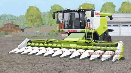 Claas Lexion 670 TerraTrac для Farming Simulator 2015