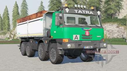 Tatra T815 TerrNo1 8x8 Tipper 2003 для Farming Simulator 2017