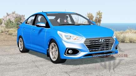 Hyundai Solaris (HCR) 2017 для BeamNG Drive