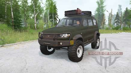 УАЗ Патриот 4x4 для MudRunner