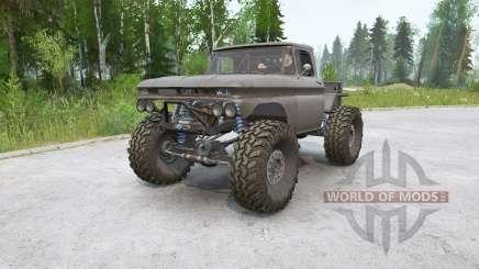 Chevrolet K10 Rockwell для MudRunner
