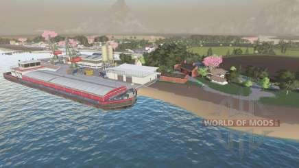 Akechetas Island для Farming Simulator 2017