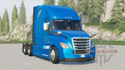 Freightliner Cascadia Raised Roof 2019〡improved braking для Farming Simulator 2017